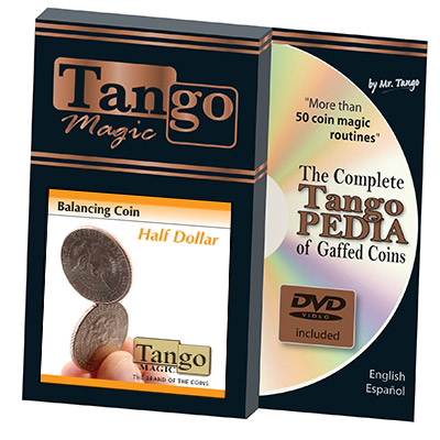 Balancing Coin (Half Dollar) by Tango Magic - Trick (D0067)