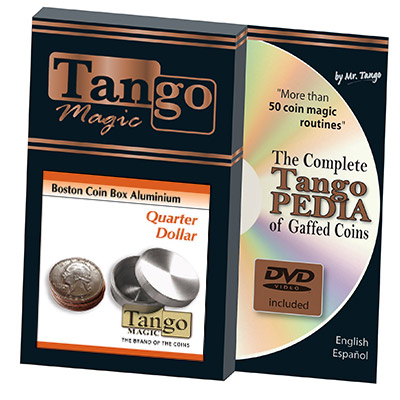 Boston Box (Quarter Dollar Aluminum w/DVD) by Tango -Trick (A0007)