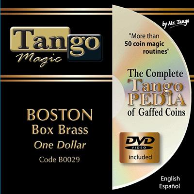 Boston Coin Box (Brass One Dollar w|DVD)(B0029)