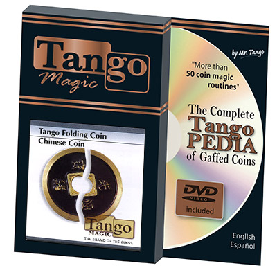 Folding Chinese Coin Internal System by  Tango - Trick (CH003)