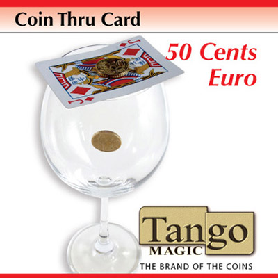Coin Thru Card (50 cent Euro w/DVD) (E0014) Tango