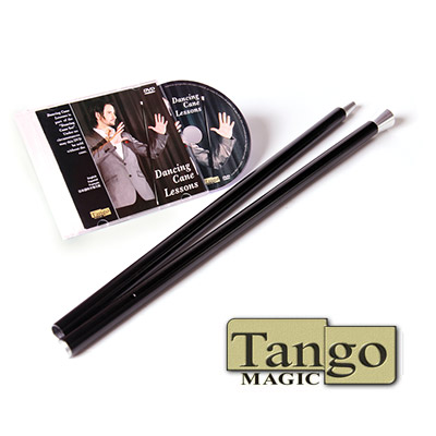 Dancing Cane Aluminum (with DVD) by Tango - Trick (A0022)