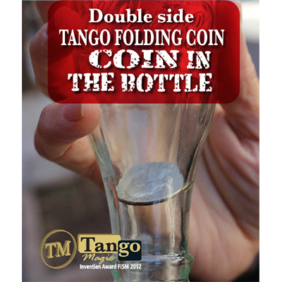Double Side Folding Quarter (Internal System DVD w/Gimmick) (D0147) by Tango - Trick