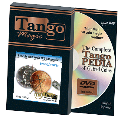 Eisenhower Scotch and Soda IKE Magnetic (w/DVD) (D0142) by Tango - Tricks