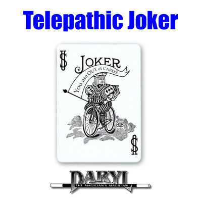 Telepathic Joker by Daryl - Trick