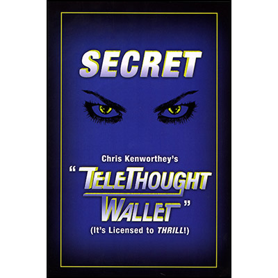 Telethought Wallet (LARGE) by Chris Kenworthey - Trick