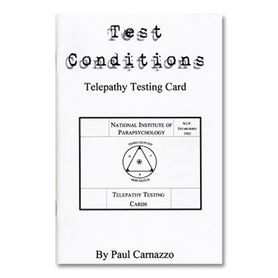 Test Conditions by Paul Carnazzo - Trick
