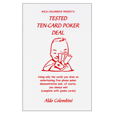 Tested Ten-Card Poker Deal by Aldo Colombini - Trick