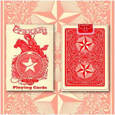 Texan Playing Cards Deck 1889 (Limited Quantity) - U.S. Playing Card Company
