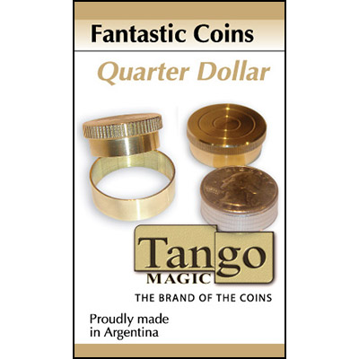 Fantastic Coins Quarter Dollar by Tango -Trick (A0011)