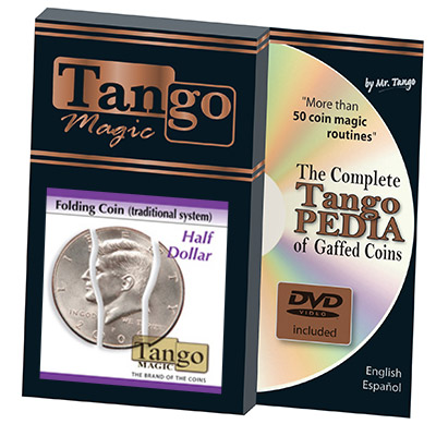 Folding Coin Half Dollar (D0020) by Tango Magic - Trick