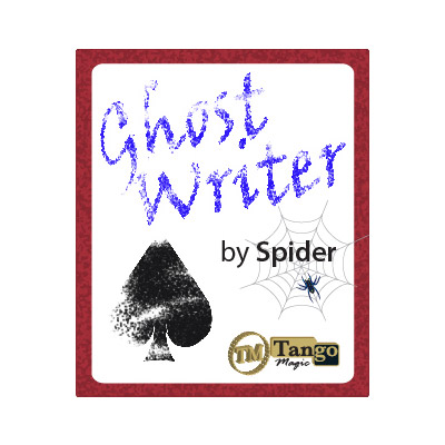 Ghost Writer (w/DVD) by Spider & Tango Magic - Tricks