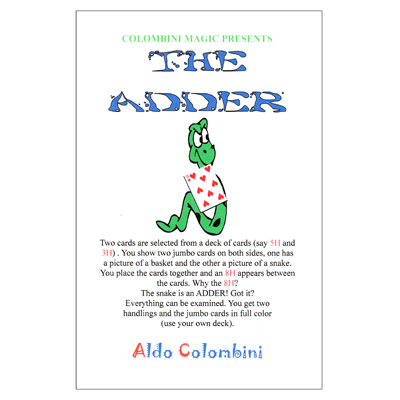The Adder by Wild-Colombini - Tricks