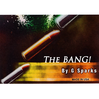 Bang! The Bullet Catch by G Sparks - Trick