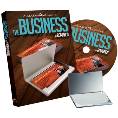The Business (DVD and Gimmick) by Romanos and Alakazam Magic