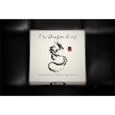 The Dragon Ring 19mm (All gimmicks and DVD) by Pangu Magic - Trick