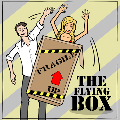 The Flying Box Illusion - Trick
