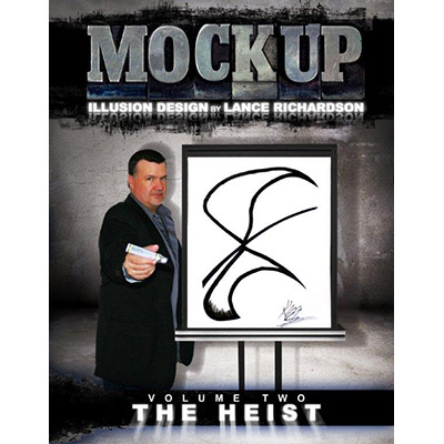 THE HEIST vol. 2 ( MOCKUP )by Lance Richardson - Libro de Magia