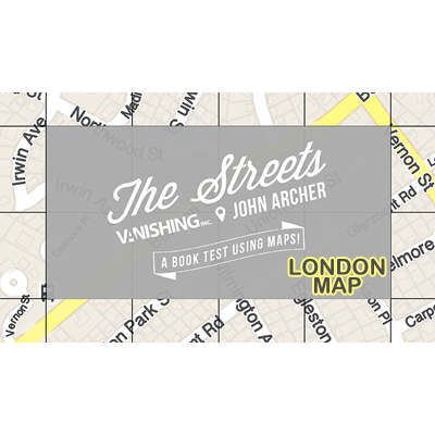 The Streets (London Map) by John Archer and Vanishing Inc. - Trick