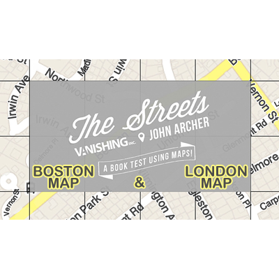 The Streets Set (Boston and London Map) by John Archer and Vanishing Inc. - Trick