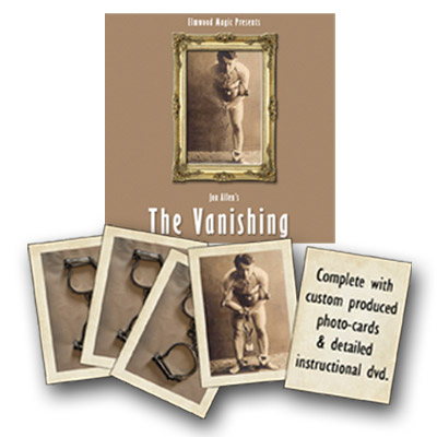 The Vanishing (Gimmick and DVD)by Jon Allen - Trick