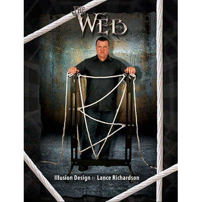 The Web Illusion Vol 3 (Mockup) - Lance Richardson - Libro de Magia