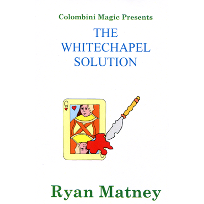 The White Chapel Solution by Wild-Colombini Magic - Trick
