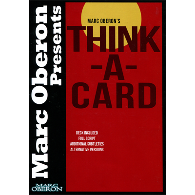 Thinka-Card by Marc Oberon - Trick