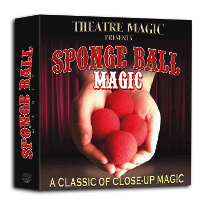 Sponge Ball Magic (DVD & Gimmick) - Theatre Magic