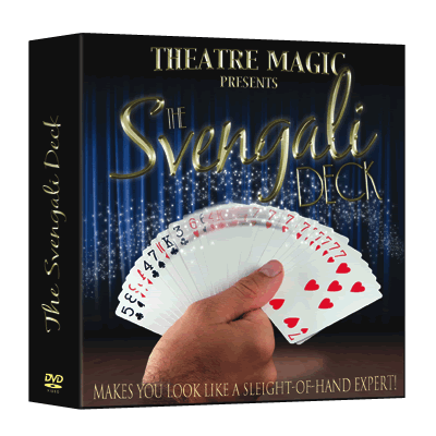 Svengali Deck (DVD and Gimmick) by Theatre Magic