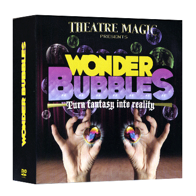 Wonder Bubble (DVD & Gimmick) - Theatre Magic - DVD