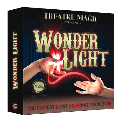 Wonder Light (DVD & Gimmick) - Theatre Magic