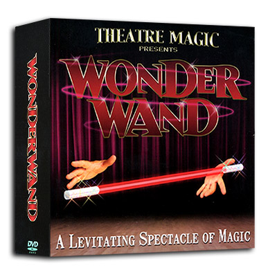 Wonder Wand ( Box Gimmick and Wand ) by Theatre Magic - Trick