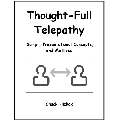 Thought-Full Telepathy by Chuck Hickok - Book