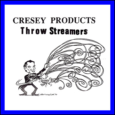 Throw Streamers (BLUE) by Cresey - Trick