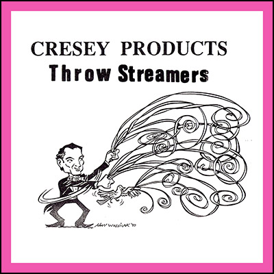 Throw Streamers (PINK) by Cresey - Trick