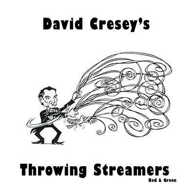Throw Streamers (red/green)by Cresey - Trick
