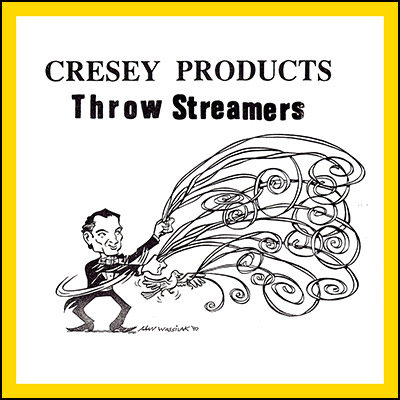 Throw Streamers (YELLOW) by Cresey - Trick