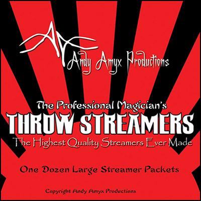 Throw Streamers (1 dozen = 1 unit)