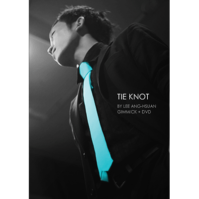 Tie Knot (Blue)by Lee Ang-Hsuan (gimmicks & DVD)