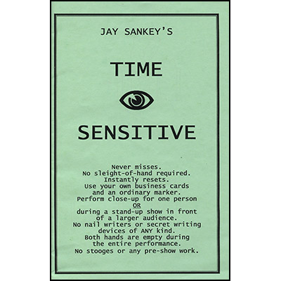 Time Sensitive by Jay Sankey -Trick