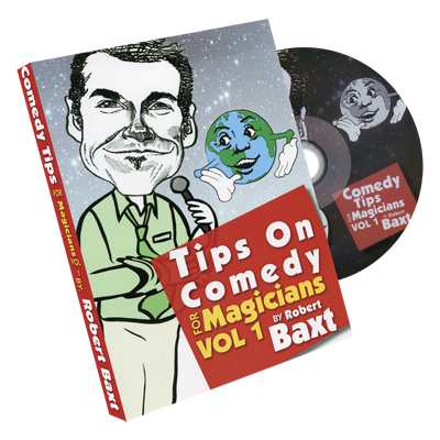 Tips On Comedy Magic (V1.) by Robert Baxt - DVD