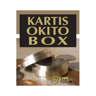 Kartis Okito Box (w/DVD) (B0027) by Tango - Trick
