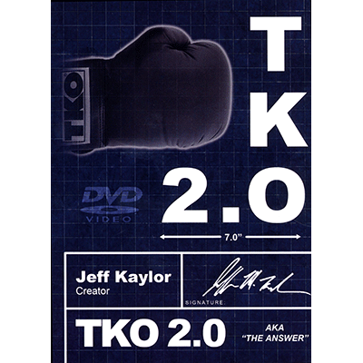 TKO2.0: The Kaylor Option BLACK and WHITE (Book, DVD, and Gimmick) by Jeff Kaylor and Michael Ammar - DVD