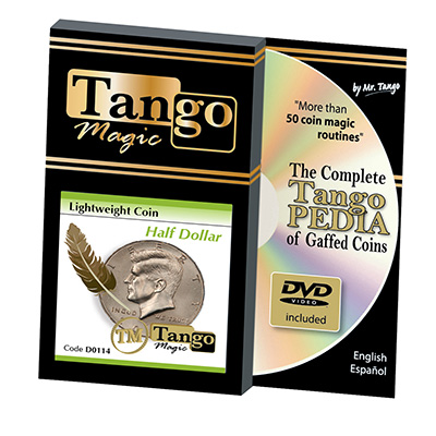 Lightweight Half Dollar (w/DVD)(D0114) by Tango - Trick
