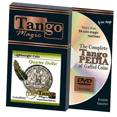 Lightweight Quarter Dollar (w/DVD)(D0132) by Tango - Trick