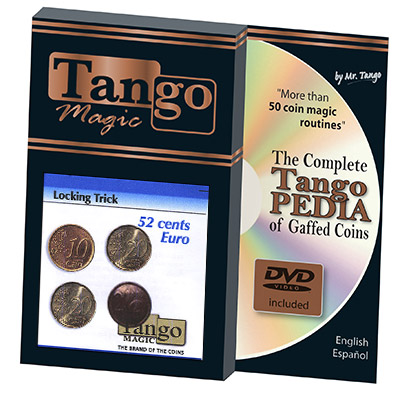 Locking Trick 52 cents Euro by Tango - Trick (E0059)