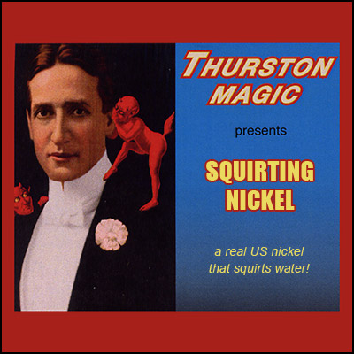 Squirt Nickel by Thurston Magic - Trick