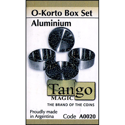 O-Korto Box Set Aluminum (w/DVD) by Tango - Trick (A0020)