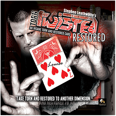 Torn, Twisted, and Restored DVD by Stephen Leathwaite & Wizard FX Productions